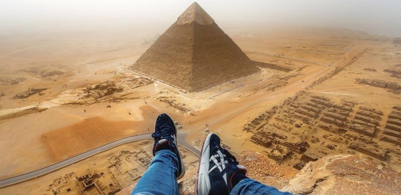 фото пирамид египет
